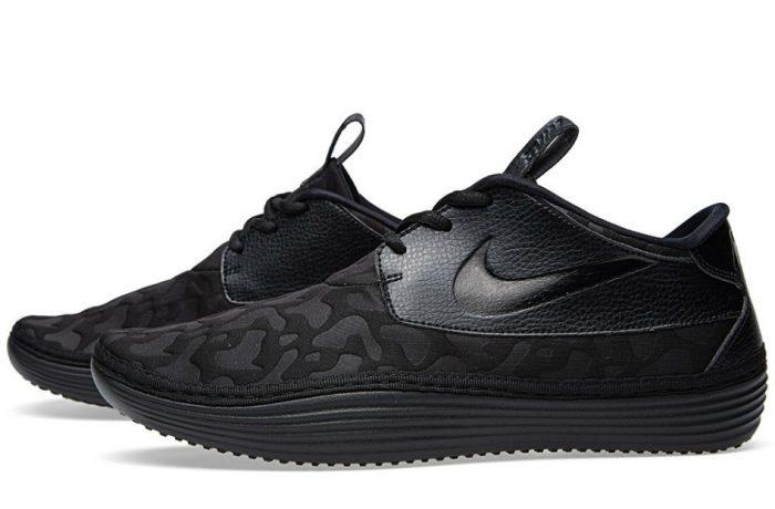 Nike Solarsoft Moccasin PO QS Black