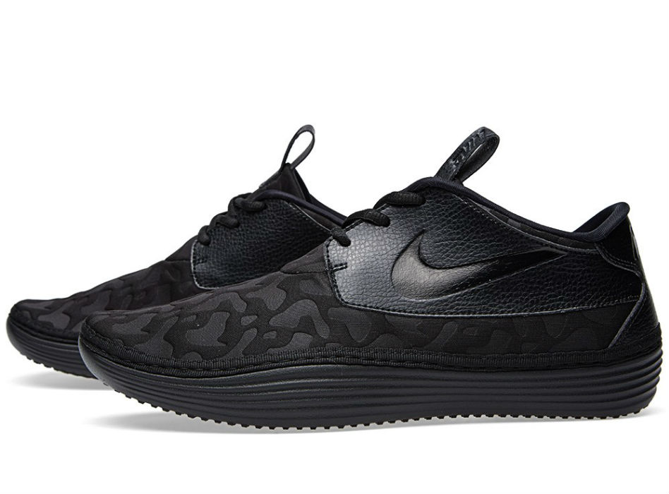 Nike Solarsoft Moccasin PO QS Black