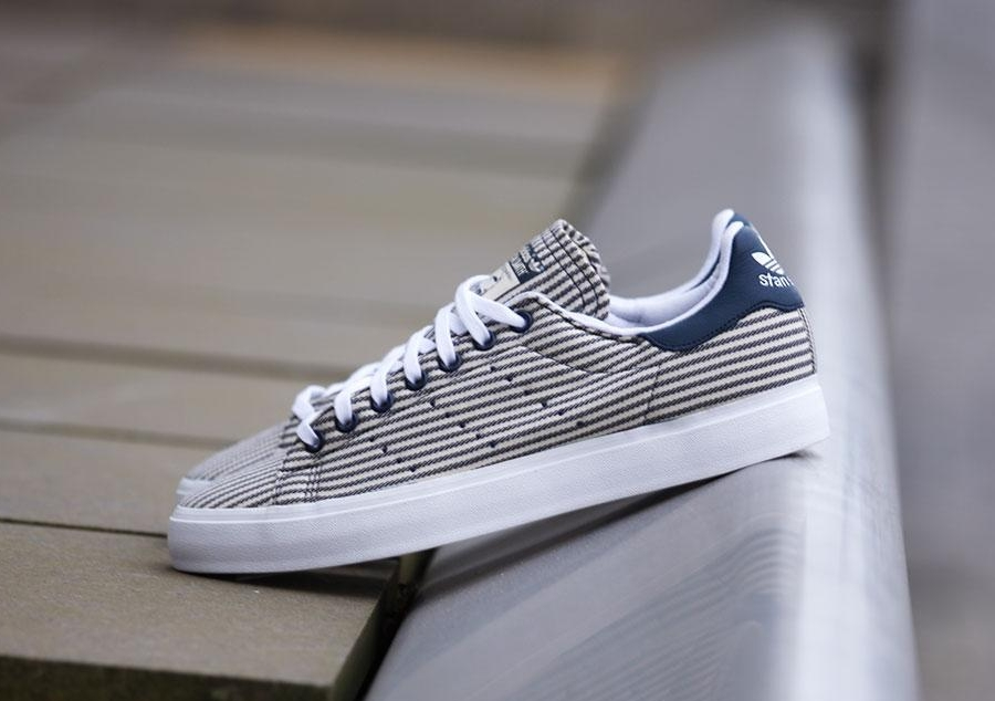 "adidas Originals Stan Smith Vulc ""Marine Stripes"""