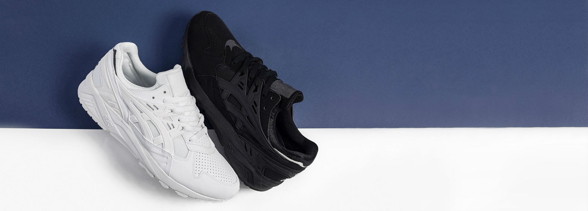 asics gel kayano black and white