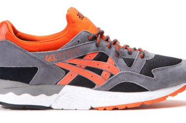 asics gel lyte v signal orange black orange