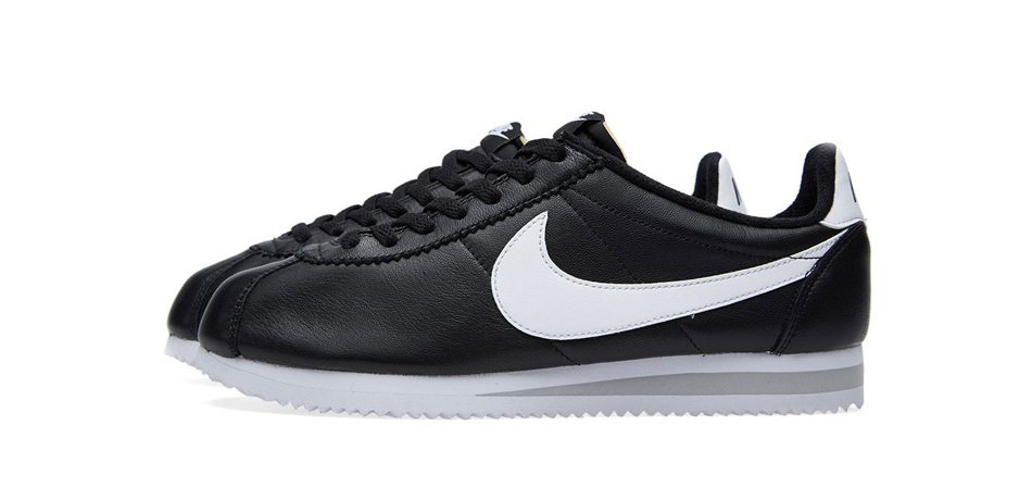 Nike Classic Cortez Premium Black and White