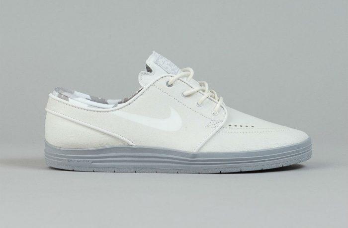 Nike SB Lunar Stefan Janoski Summit White/Wolf Grey