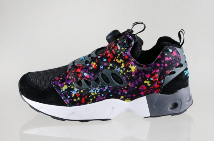 reebok instapump fury road x stash black white