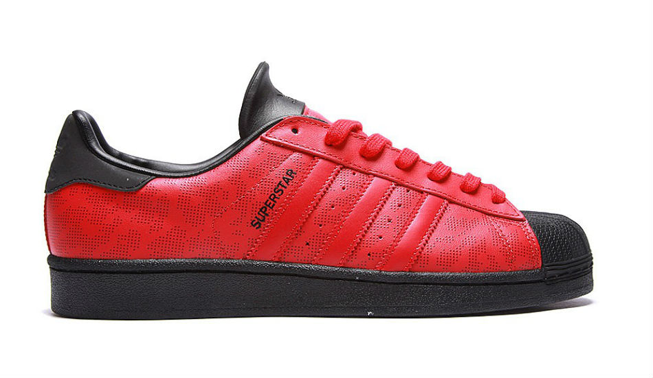 adidas Originals Superstar Camo 15 Red/Black