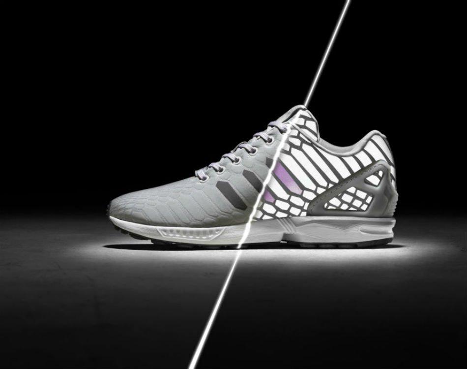 adidas originals zx flux xeno silver