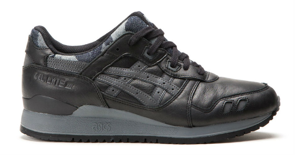 Asics Gel Lyte III Japanese Denim Camo Black