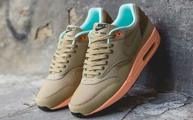 nike air max1 fb hay-sunset glow