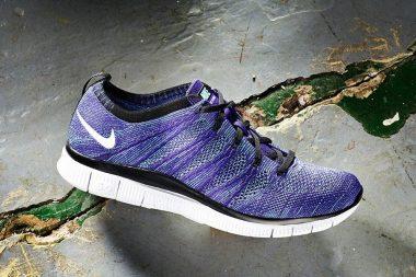 Nike Free Flyknit Court Purple
