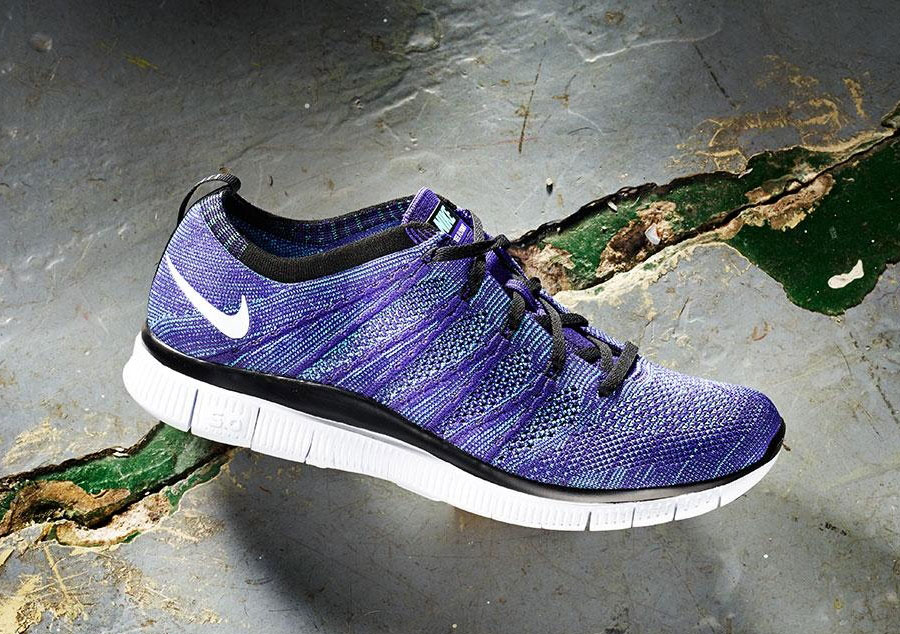 Nike Free Flyknit Court Purple