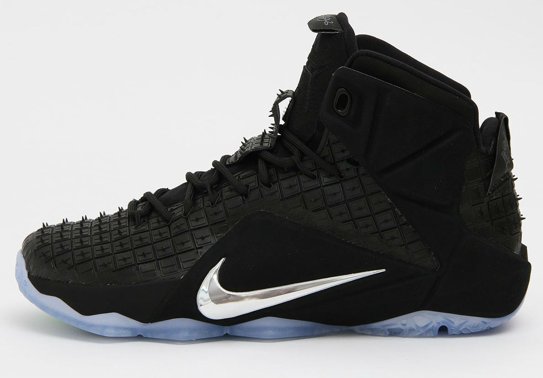 Nike Lebron XII EXT RC QS Black/Chrome