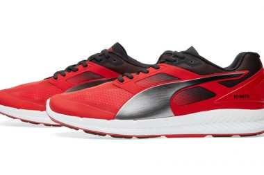 Puma CREAM Ignite Red, Black & Silver
