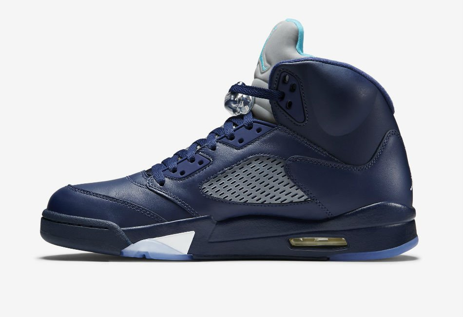 Air Jordan 5 Retro Midnight Navy