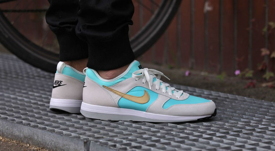 nike archive 75 m light aqua