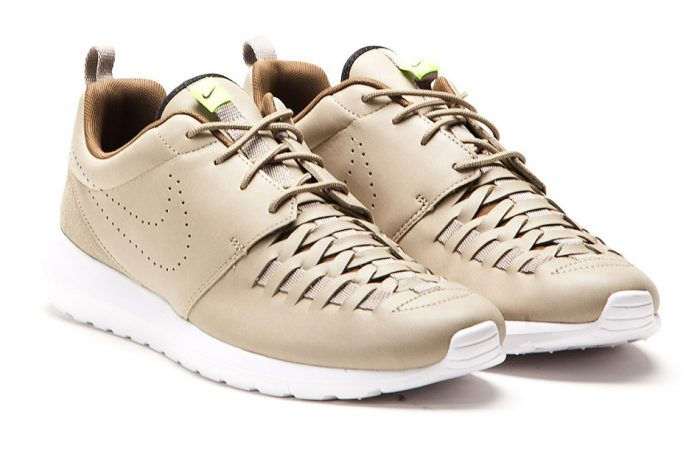 Nike Roshe Run NM Woven (Bamboo / Black / Volt)