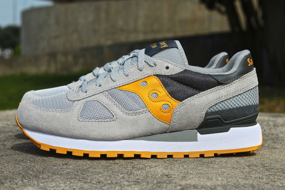 Saucony Shadow Original Grey/Yellow
