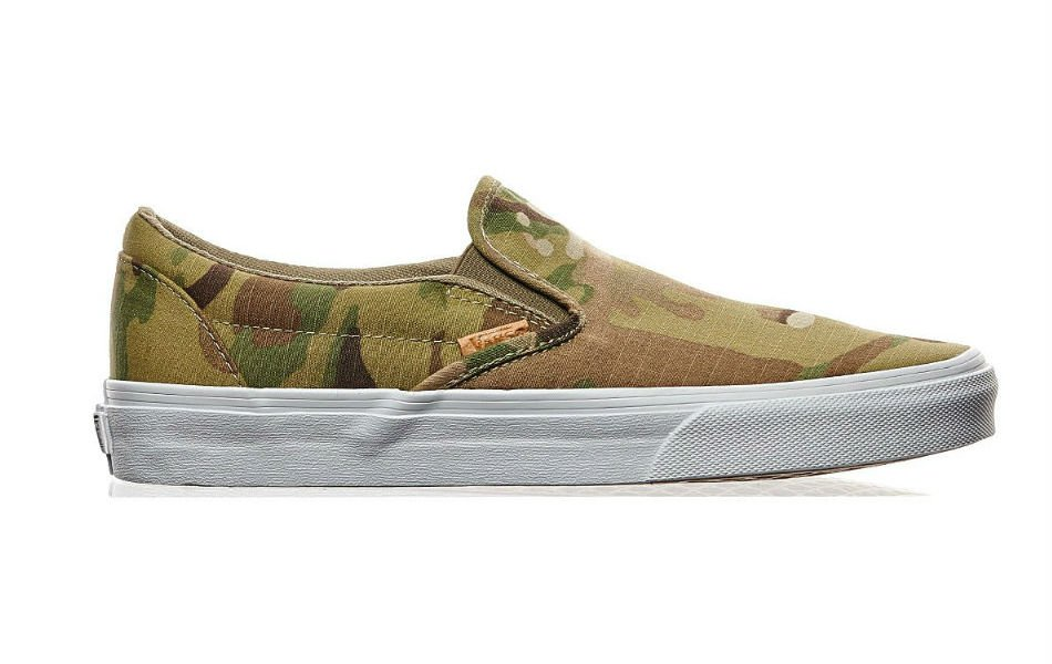 Vans Multicam Slip-On CA Camo