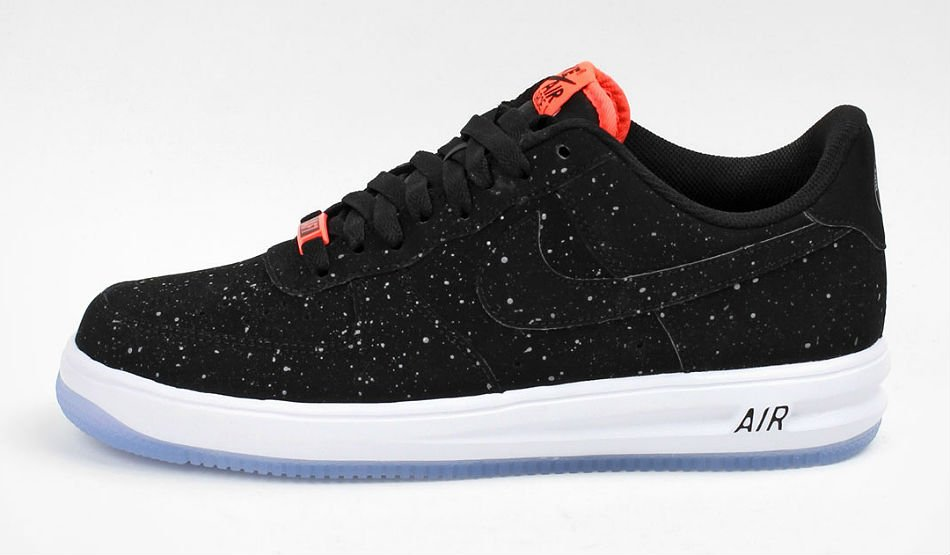 nike lunarforce 1 black cool grey hot lava