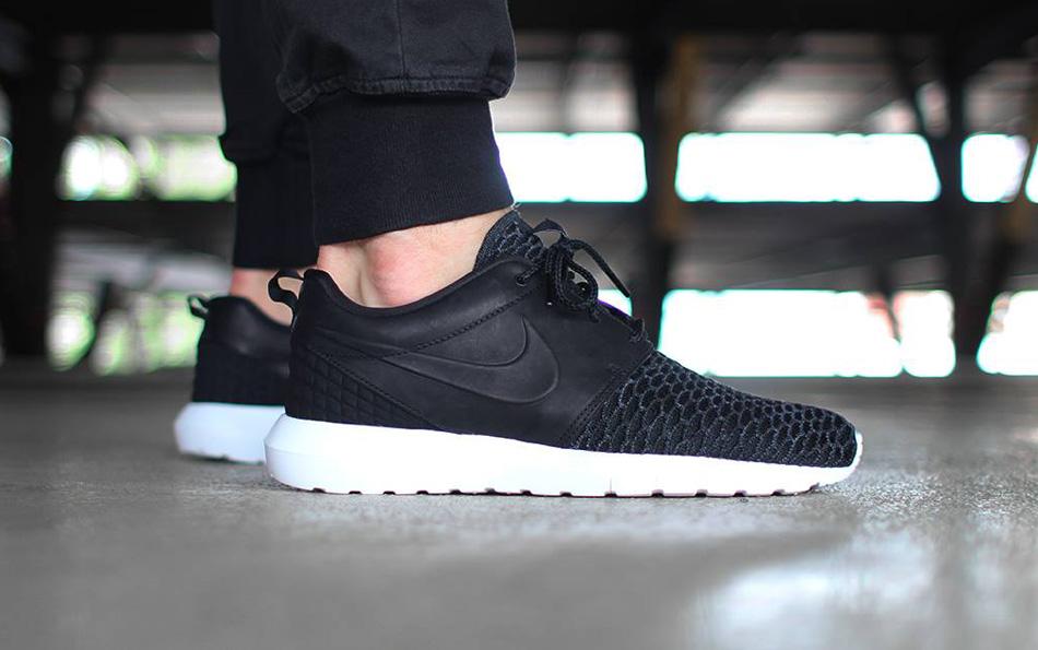 Nike Flyknit Roshe Run NM Flyknit PRM Black