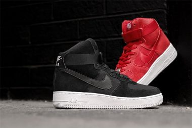 Nike Air Force 1 High 07 All Black/All Red