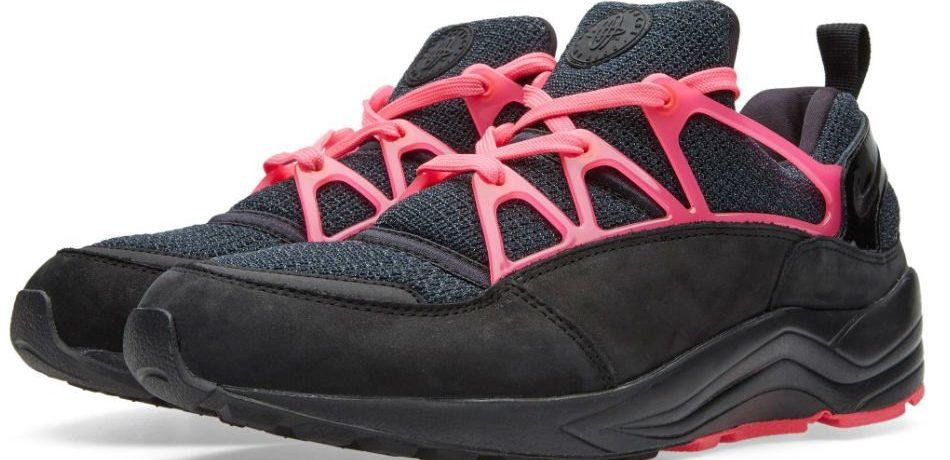 Nike Air Huarache Light FC Black/Pink Flash