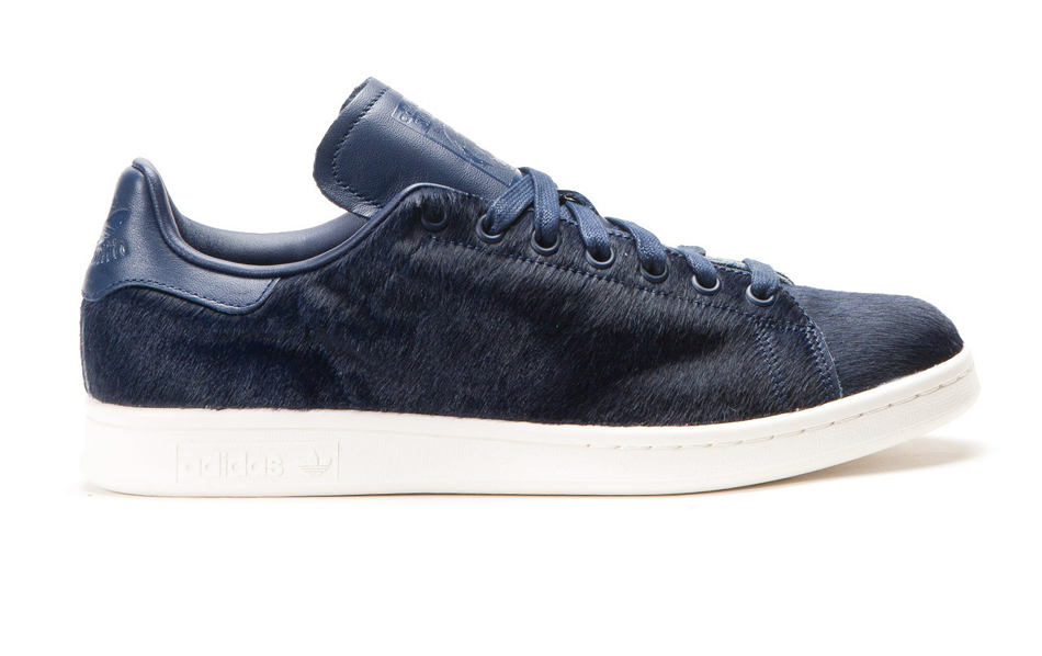 adidas originals stan smith 'pony hair' collegiate navy
