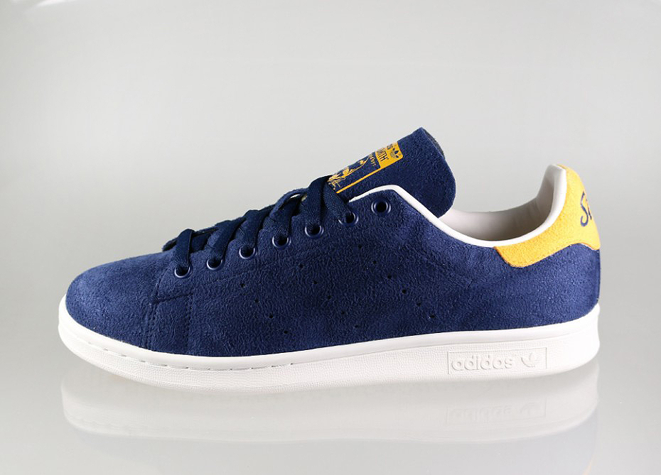 adidas originals stan smith suede collegiate navy