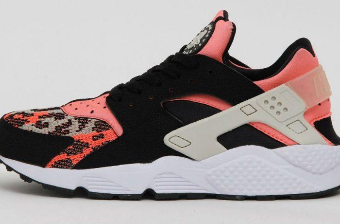 Nike Air Huarache Run PA Black/Hot Lava