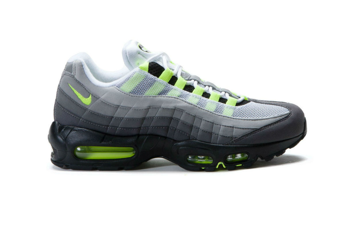 "Nike Air Max 95 OG ""Neon"" Black/Volt"