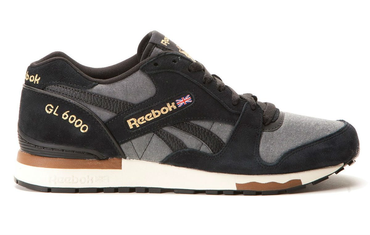 Reebok GL 6000 CH Black/Paperwhite/Antique