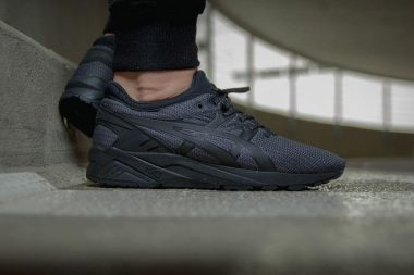 asics gel kayano evo triple black