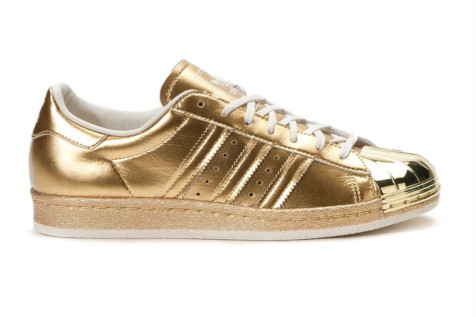 adidas originals superstar 80s metallic pack gold