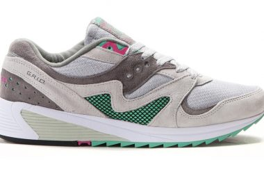 Saucony Grid 8000 CL Light Grey / Dark Grey