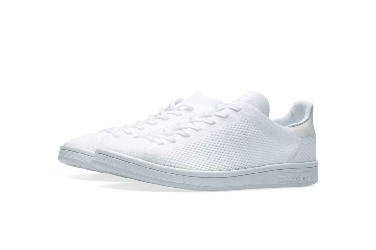 adidas originals stan smith primeknit white