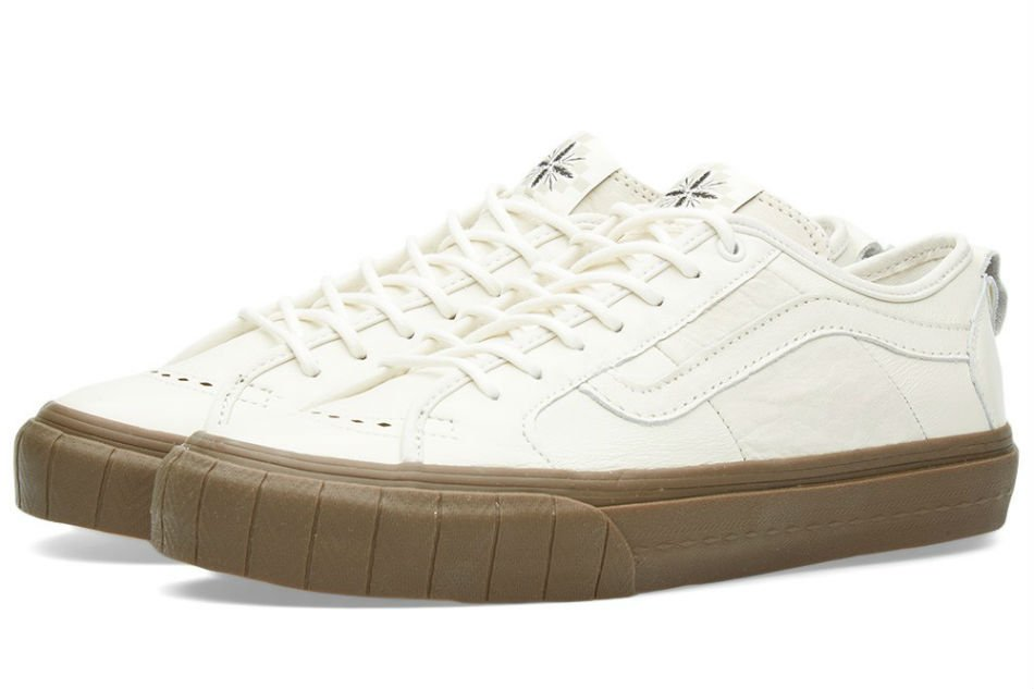 Vans Vault TH Court Lo LX Marshmallow & Dark Gum