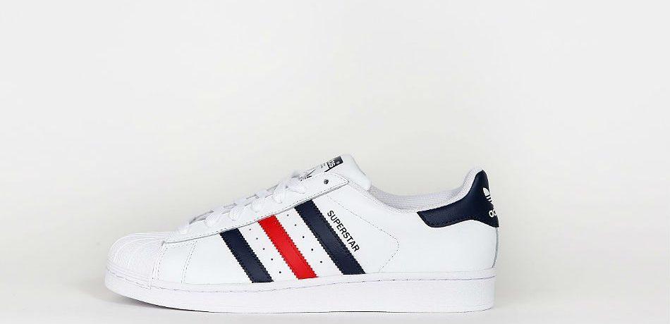 adidas Originals Superstar Foundation FTWR White/Collegiate Navy