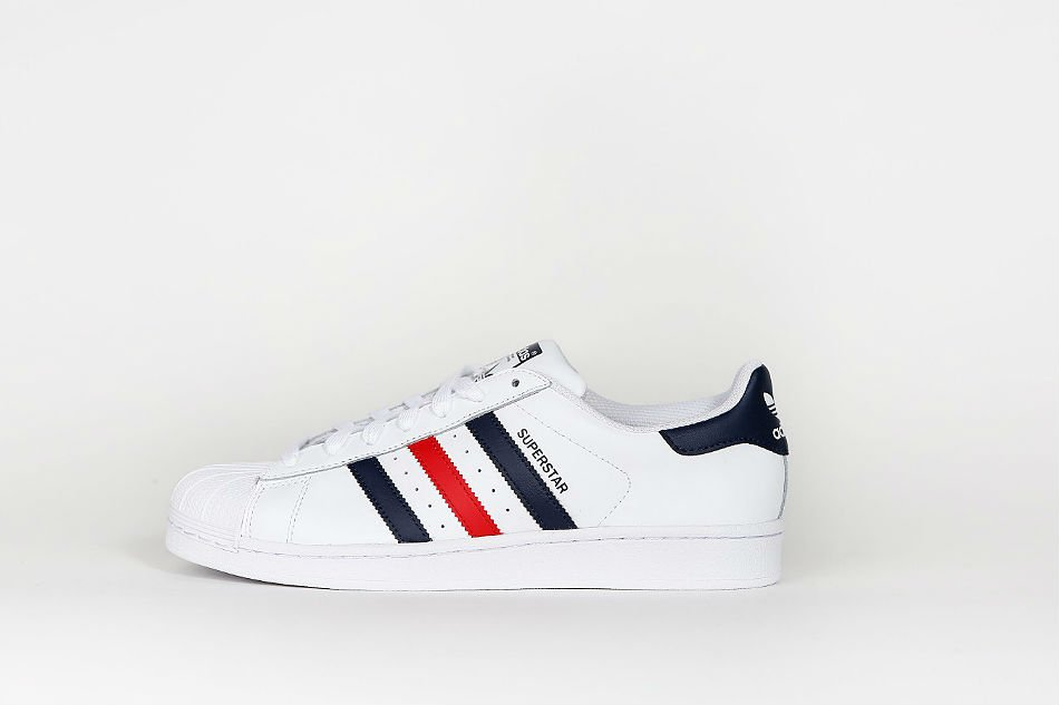 adidas Originals Superstar Foundation FTWR White/Collegiate Navy