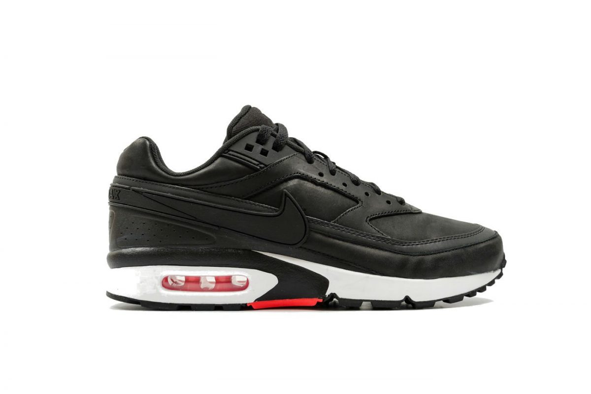 Nike Air Max BW Premium Black/Bright Crimson