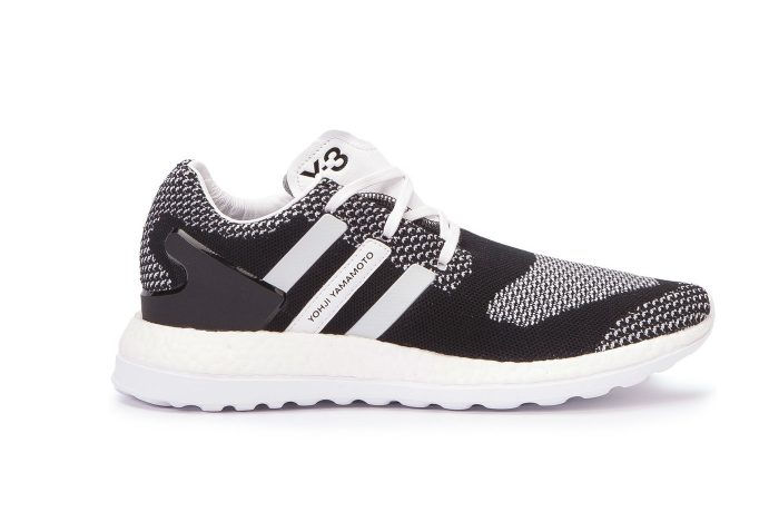 Y-3 Pure Boost ZG Knit Black and White