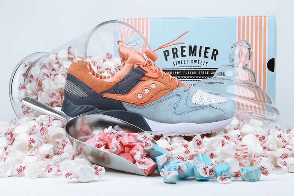"Premier x Saucony Grid 9000 ""Street Sweets"""