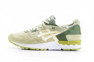 asics gel lyte v pepper green