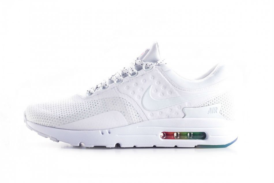 nike air max zero qs white