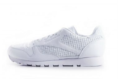 reebok classic leather weave white