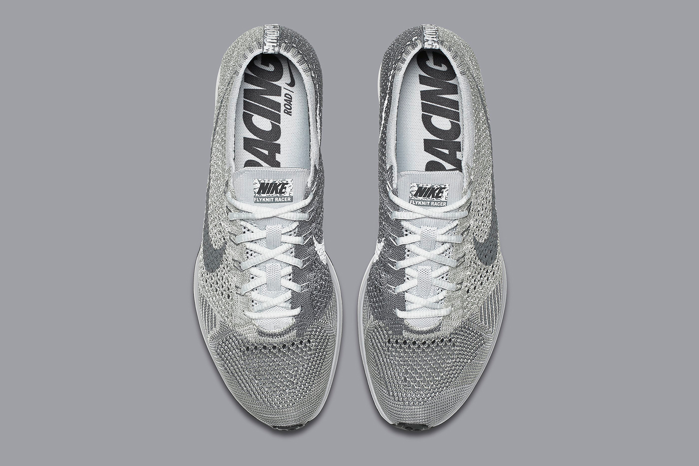 Nike Flyknit Racer Pure Platinum