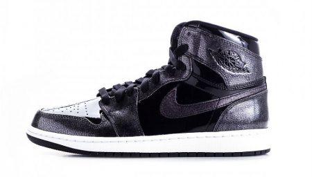 Air Jordan 1 Retro High chegam em 'Patent Leather' Black