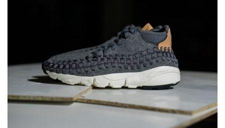 Nike Air Footscape Woven Chukka SE foram feitos para o Inverno