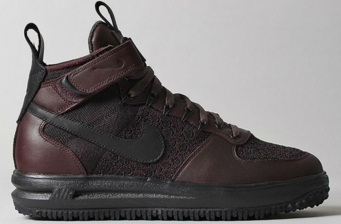 "Nike Lunar Force 1 Flyknit Workbook ""Deep Burgundy"""