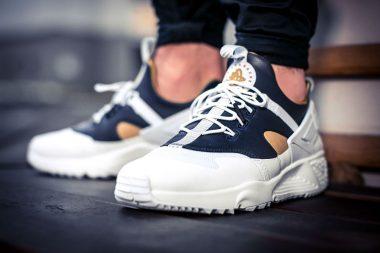"Nike Air Huarache Utility ""Premium White"""