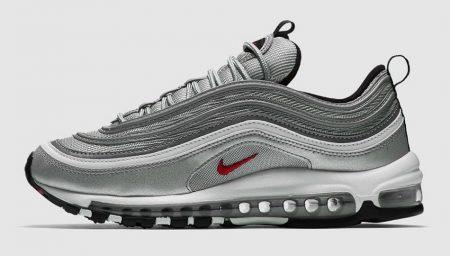 Quase 20 anos depois: Nike Air Max 97 OG Silver Bullet