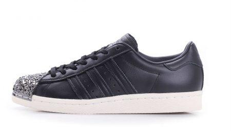 adidas Wmns Superstar 80s 3D Metal Toe Black